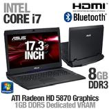 "SAVE $250 - ASUS Laptop Intel Core i7-720QM 1.6GHz 8GB DDR3 640GB HDD 17.3"" Win7 Premium 64-bit $1549.99"